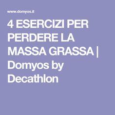 4 ESERCIZI PER PERDERE LA MASSA GRASSA | Domyos by Decathlon