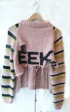 Zarah Savage EEK Jumper