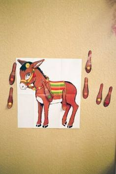PIN THE TAIL ON THE DONKEY : ) i remember...