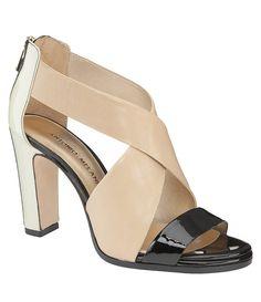 d30a1bd948d Love this three tone sandal. Antonio Melani ...