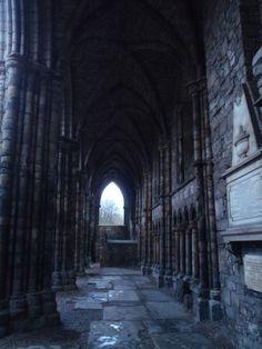 Holyrood Abbey~~Edinburgh Scotland