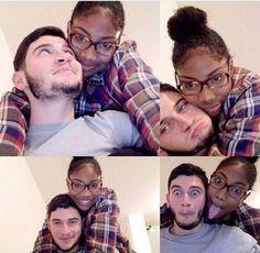 Cute interracial couple #love #wmbw #bwwm #swirl