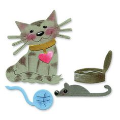 Sizzix Originals - Cat & Cat Toys