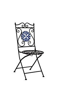 MOSAIC METAL CHAIR