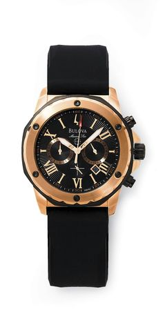 @Bulova men's marine star chronograph watch