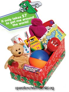 Can't pack a shoe box gift? You can still ensure that OCC gifts reach precious children in the far corners of the world by adopting a box's shipping donation--a very important part of the gift! Click here to find out how: http://spsocial.org/E3D