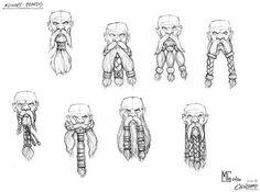 Dwarf Beards Models