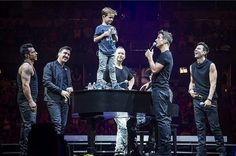 Griff with NKOTB #TheMainEvent 2015