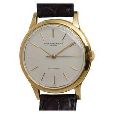 Audemars Piguet Yellow Gold Automatic Dress Model Wristwatch circa 1960s  $7,850