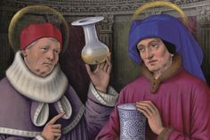 Saint Cosmas and Damian Source: Bibliothèque nationale de France