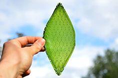 Estas folhas artificiais irão mudar tudo na Terra... e também algumas coisas em Marte