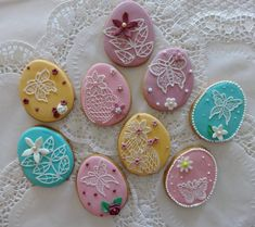 Egg cookies created by sugar sugar