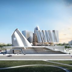 Parliamentary Complex of the Republic of Albania   by Coop Himmelb(l)au