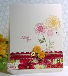 Card featuring Days of Summer StampTV Kit.  Designed by Michelle Woerner