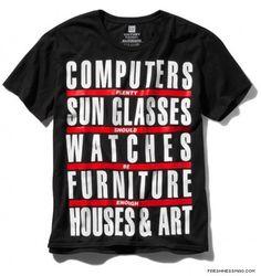 GAP Artist Editions T Shirts-Barbara Kruger