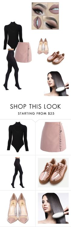 """""""13:01:2017"""" by deniisse ❤ liked on Polyvore featuring Cushnie Et Ochs, Chicwish, Wolford and Semilla"""