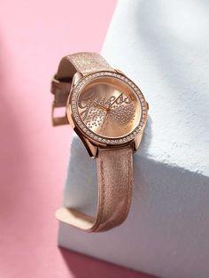 Rose Gold Watch | GUESS.com