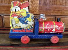 Tracy's Toys (and Some Other Stuff): Fisher Price Donald Duck Toys