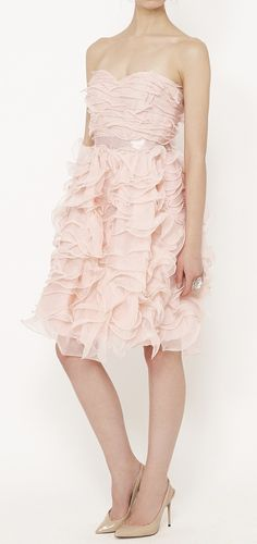 Oscar de la Renta Pink Dress