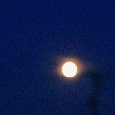 Full moon on 6/2/12
