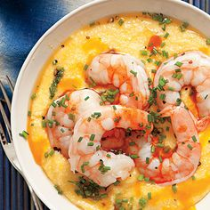Learn how to make Cheesy Grits with Shrimp. MyRecipes has 70,000+ tested recipes and videos to help you be a better cook