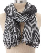 Black and White Scarf:)