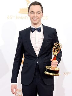 """HE IS THE BOMB!!!!  I LOVE THE BIG BANG THEORY!  Jim Parsons Calls Boyfriend Todd Spiewak His """"Favorite Person on the Planet"""" in 2013 Emmys Speech"""