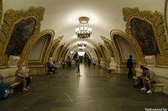 Metro de Moscou / Moscow's Subway