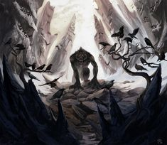 Crow Eater by AlectorFencer.deviantart.com on @deviantART