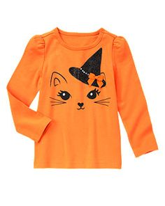Halloween Kitty Tee