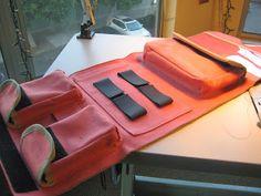 Vegan handmade randonneur handlebar bag