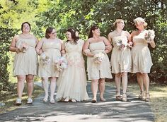 Fat wedding party