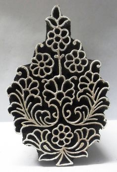 Textiles, Textile Prints, Stencils, Homemade Stamps, Fabric Stamping, Art Sculpture, Carving Designs, Wood Stamp, Wooden Hand