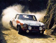 Fiat Abarth 124 gr.4 Rally Paganelli-Russo  Portogallo 1973