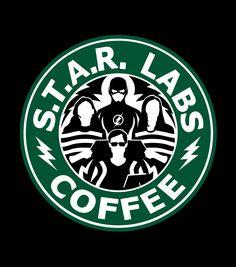 Star Labs coffee 'The Flash' Arrow Serie, Star Labs, Heros Comics, Marvel Dc Comics, Nightwing, Arrow Flash, Foto Flash, Le Flash, Flash Art