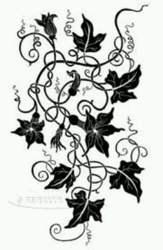 The pumpkin vine. Inspiration for my next tattoo since Mason's my Halloween baby :)
