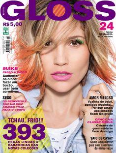 Revista Gloss - Edição Número 24 - Flávia Alessandra- Set/09
