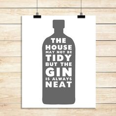 Personalised Gin Print
