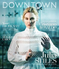 Downtown Magazine NYC VIDEO: Interview with Julia Stiles Behind-the-Scenes video and interview with Julia Stiles for Downtown Magazine, Summer 2016 Ronaldo Soccer, Julia Stiles, World Of Interiors, Summer 2016, Superstar, Interview, Nyc, Magazine