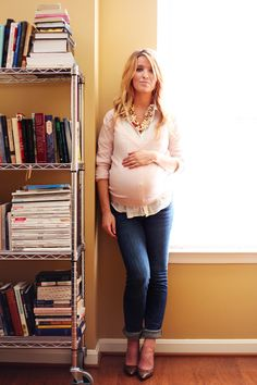 Preggo + chic...adorable