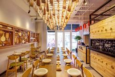 Cook Fans Chinese noodle bar by David Ho Design Studio, Beijing – China