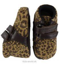 Bundgaard Prewalker Sko - Leopard m. Velcro