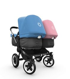 Looking for The Best Twin Pram? Check out the Bugaboo Donkey Twin Twin Strollers, Double Strollers, Bugaboo Donkey Duo, Twin Pram, Convertible Stroller, Baby Prams, How To Have Twins, Twin Babies, Baby Gear