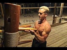 Wing Chun WOODEN DUMMY Real Fighting - Bruce Lee, Yip Man Be Proud - Muk...