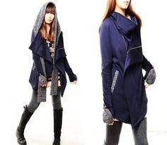 Tuareg  thick cotton fleece jacket and scarf set by idea2lifestyle, $78.00