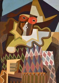 Arlequín  AUTOR: Pettoruti, Emilio  Nacionalidad Argentina  (Argentina, La Plata, 1892 – Francia, París, 1971)
