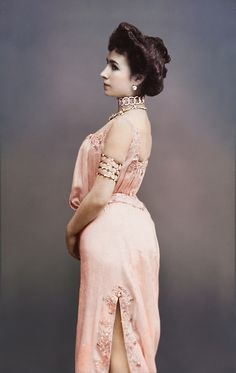 Matilda Kshesinskaya colorized photo