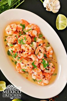 This Tequila Shrimp recipe takes only a few minutes to prepare, and you can pair it with rice or a good pasta and a salad for a completely scrumptious meal. You can easily make it your own way by adding some Mexican Cream or change the flavors with Mexican oregano...