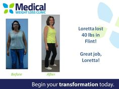 Wow 40 pounds! Way to go, Loretta! 🙌🔥 #TransformationTuesday #ItFits  Are you ready to take on your goals?