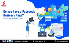Do you have a Facebook Business Page? If not we will help you for more Information WhatsApp us @ +91 93 98 97 26 30 www.sophicapp.com #bestdigitalmarketingagency #BesDigitalMarketingAgencyinhyderabad #DigitalMarketingCompanyHyderabad #digitalmarketingservices #topdigitalmarketingservices #BestDigitalMarketingServicesinHyderabad Facebook Business, Business Pages, Digital Marketing Services, Web Application, App Development, Mobile App, Technology, Tech, Mobile Applications